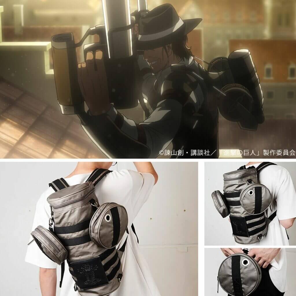 進擊的巨人 對人立體機動裝置 後背包